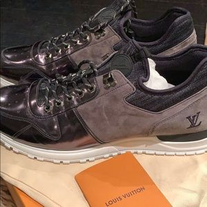 Louis Vuitton Sneakers- Black & Grey size 11